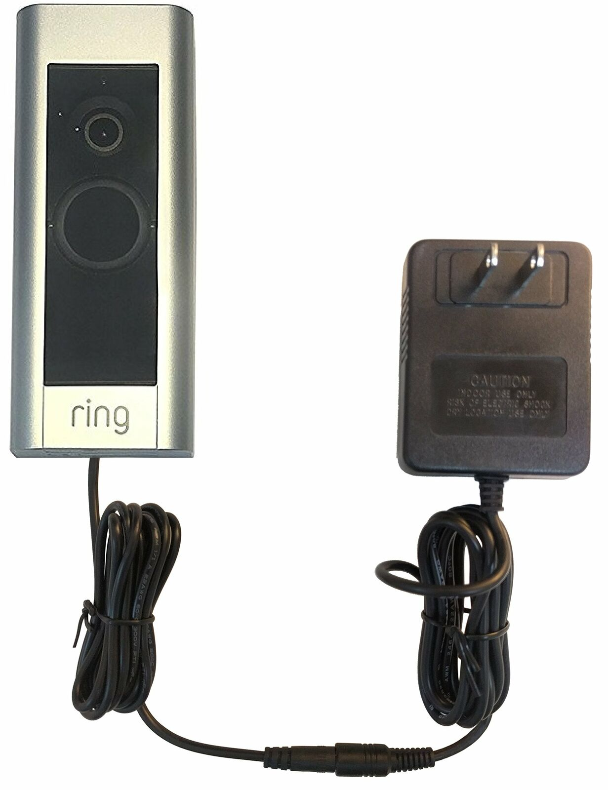 OhmKat Video Doorbell Power Supply - Compatible with Ring Video Doorbell PRO -