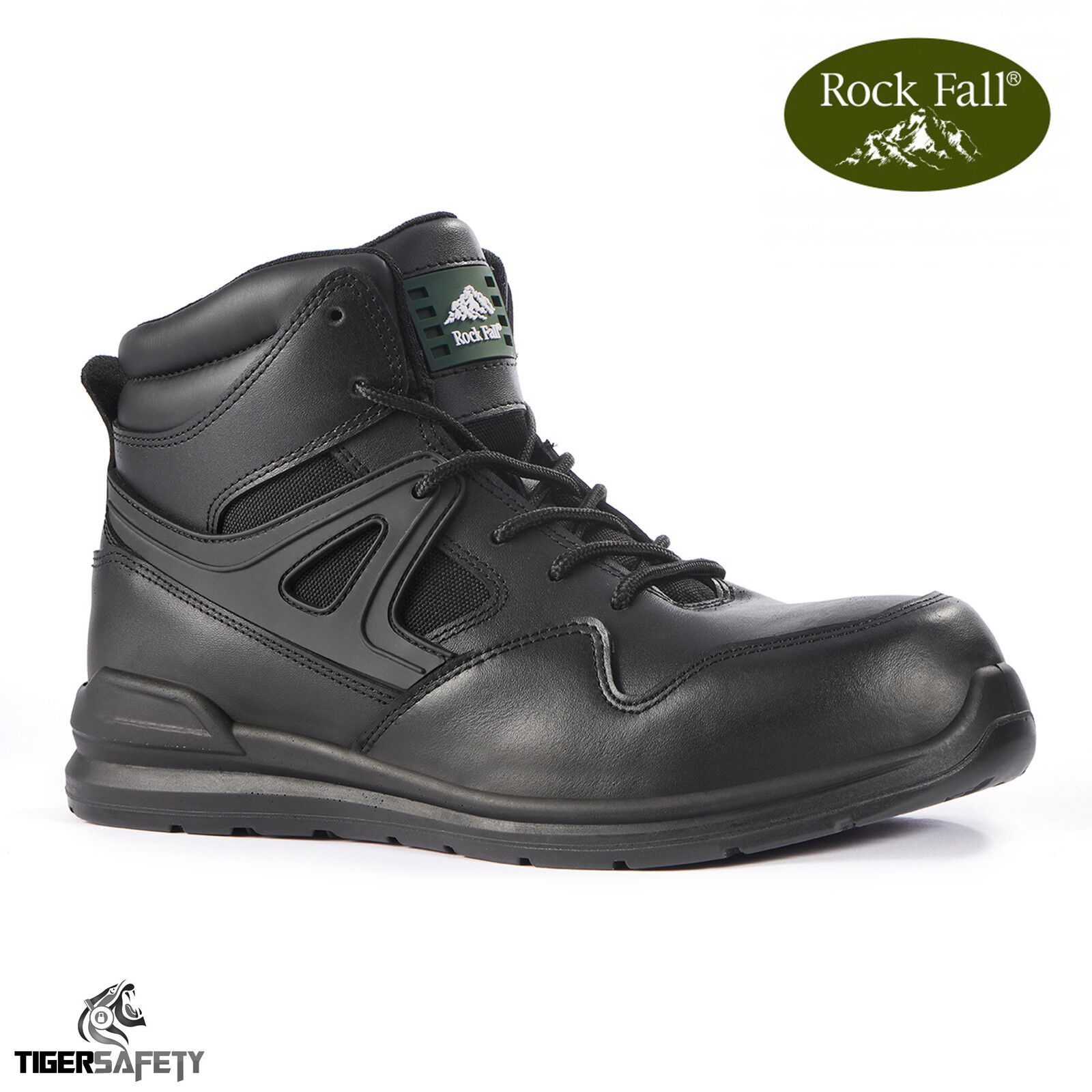 Rock Fall Grafite RF670 S3 SRC LEGGERA NERA 100% non metallici calzature di sicurezza