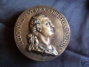 Louis-XVI-epoux-Marie-Antoinette-platre-patine-bronze