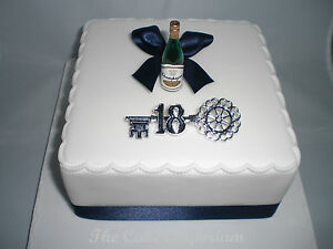 Image Is Loading 18TH 21ST BOYS GIRLS CHAMPAGNE BOTTLE BIRTHDAY CAKE