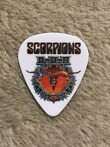 Scorpions-Klaus-Meine-8-11-19-UK-Bloodstock-Festival-Guitar-Pick-Rare