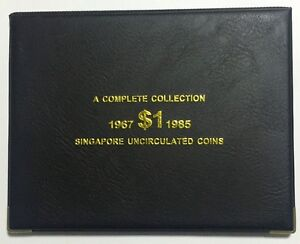 Coin-Album-To-House-Complete-Set-Of-1-Coin-From-1967-1985
