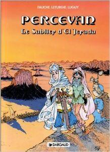 Philippe-Luguy-Percevan-tome-5-Le-Sablier-d-039-El-Jerada-1996-Bande-dessin