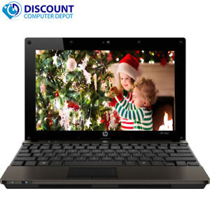 HP-5103-Mini-10-1-034-Laptop-Computer-Atom-1-66GHz-2GB-160GB-Windows-10-Home-Wifi