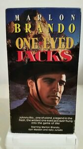One-Eyed-Jacks-VHS-Marlon-Brando-1961-Color-Front-Row-Entertainment