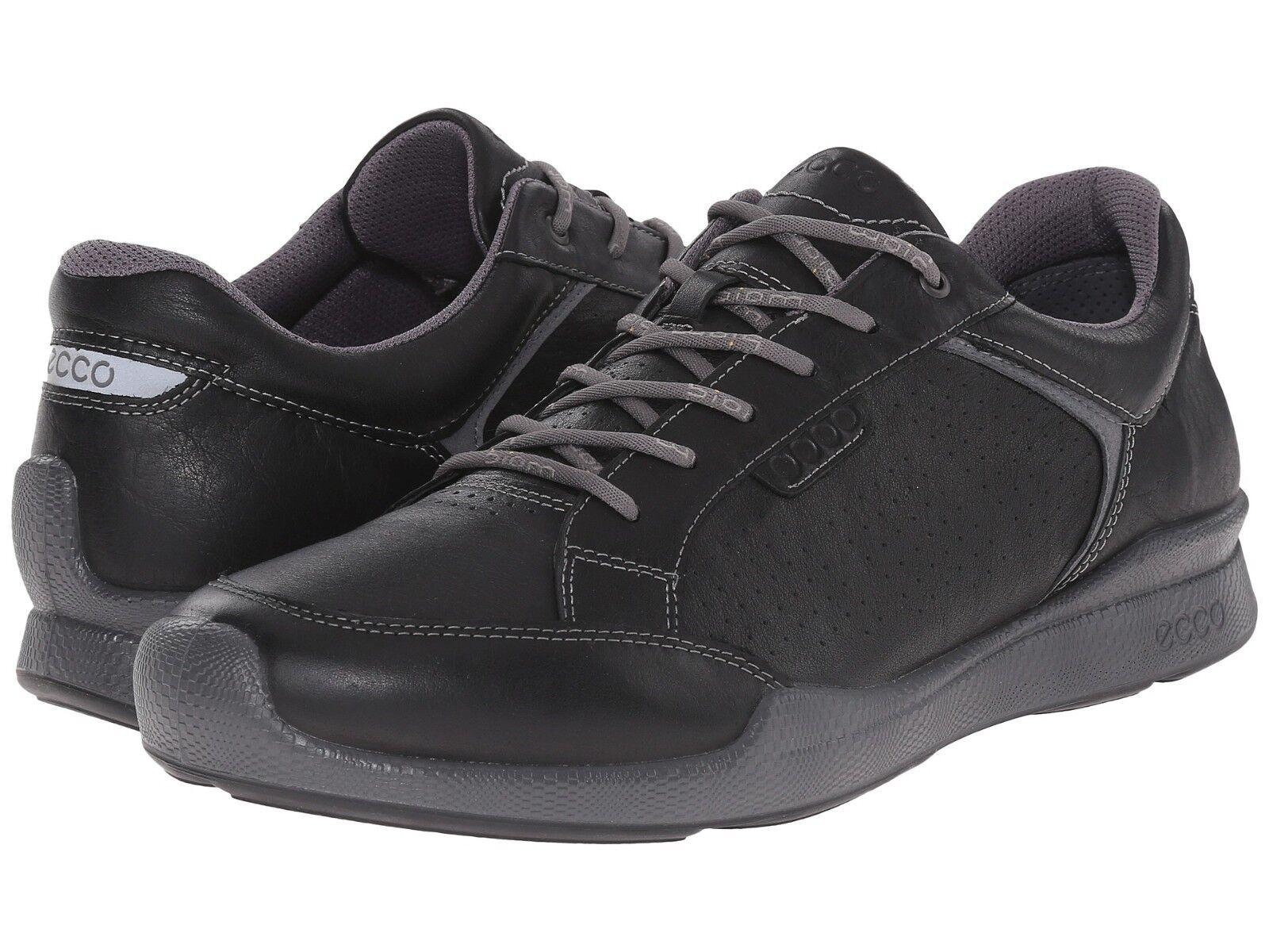 Homme ECCO Biom Hybrid Walk II en cuir noir Turnchaussures 835534