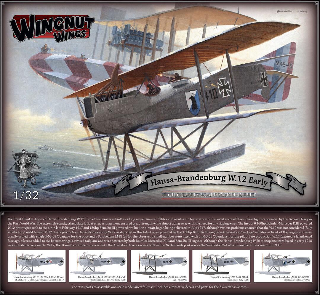 Flügelmutter 1 32 Hansa-Brandenburg mit mit mit 12 ( Früh )  32036    Moderne Muster  a0c639