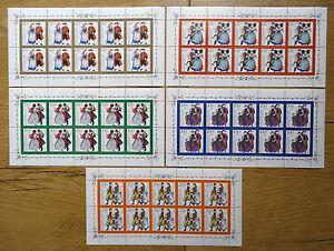 10-x-Bund-Nr-1757-1761-KB-postfrisch-BRD-Kleinbogen-Zehnerbogen-10-er-Bogen