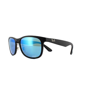 6974716f3df Ray-Ban Sunglasses RB4263 601SA1 Matte Black Blue Mirror Polarized ...