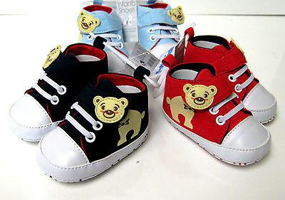 Aspirante Soft Touch Ragazzi Hi-top Sneaker Scarpe Chiusura Laterale 3 Taglie 3 Colori-mostra Il Titolo Originale