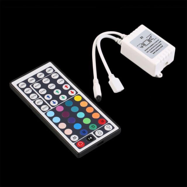 44 Key Control Box+IR Remote Controller For LED RGB 5050/3528 Light Strip Th