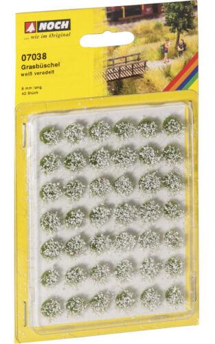 Ancora 07038 erba ciuffo bianco rifinita 6mm