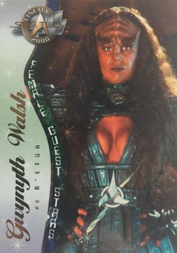 Star Trek Cinema 2000 Female Guest Stars Sonderkarte Zustand TOP Mint