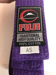 New Fuji Sports Jiu Jitsu Brazilian JiuJitsu MMA BJJ Adult Gi Rank Belt