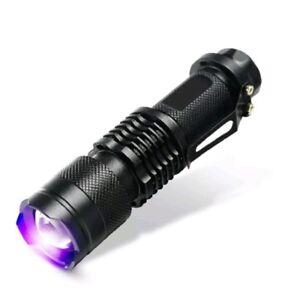 Prüf Details 395nm Cree 10w Zu Violet Led Lila Aa Stark Taschenlampe Uv Lampe Aluminium kXZuPOi