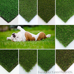 Artificial Grass Astro Turf Realistic Natural Green Lawn Garden