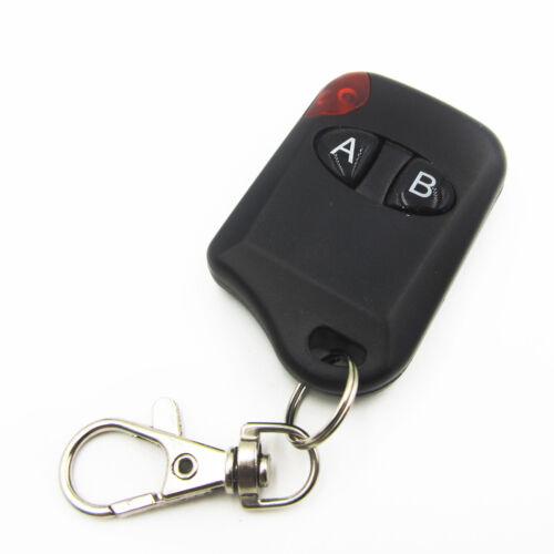 2 Button RF Wireless Remote Control Transmitter Garage Door DC12V 433MHz