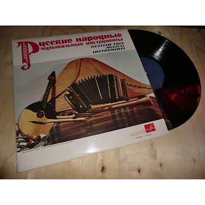 BERYOZKA / ANATOLY POLETAYEV & OTHER russian folk musical instruments Lp 1974