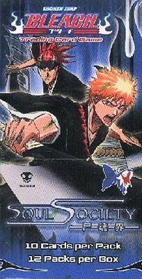 Bleach TCG SOUL SOCIETY Booster Box 12 PACKS NEW SEALED