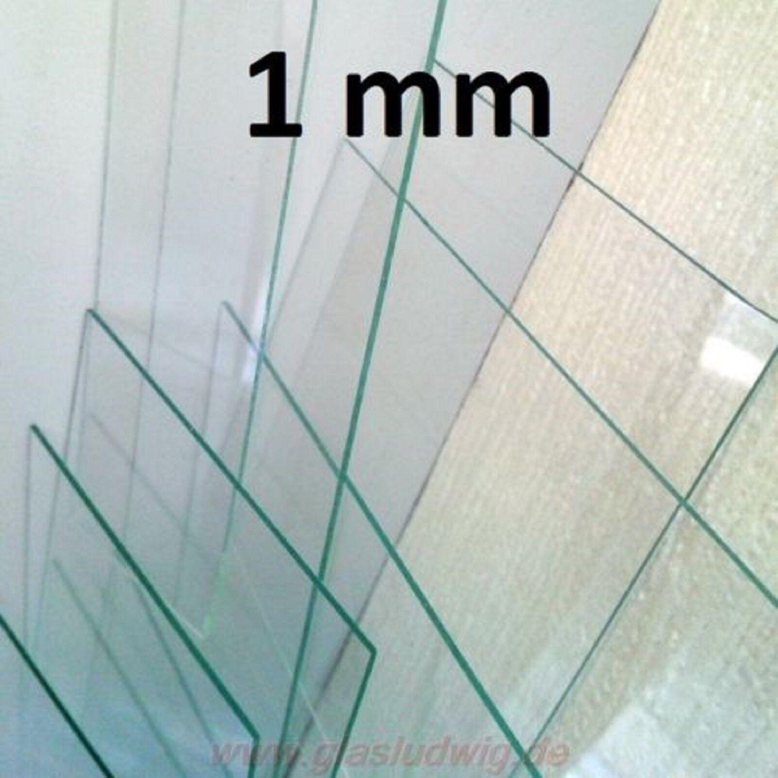 Dünnglas 1 mm sehr dünnes Glas, Notschlüsselkasten, Displayglas, Feuermelder