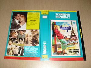JAQUETTE-VHS-Monpti-Eine-Pariser-Geschichte-Romy-Schneider