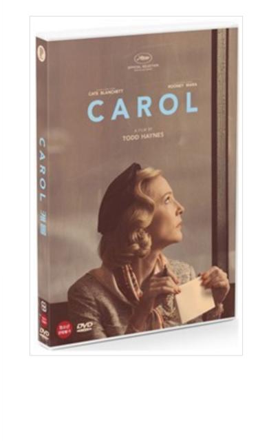 """Película """"Carol"""" Dvd/región todos"""