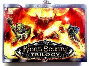 Kings-Bounty-Trilogy-PC-Neuf-Nouveau-Scelle-Scelle-Videogame-Videojuego-Ita