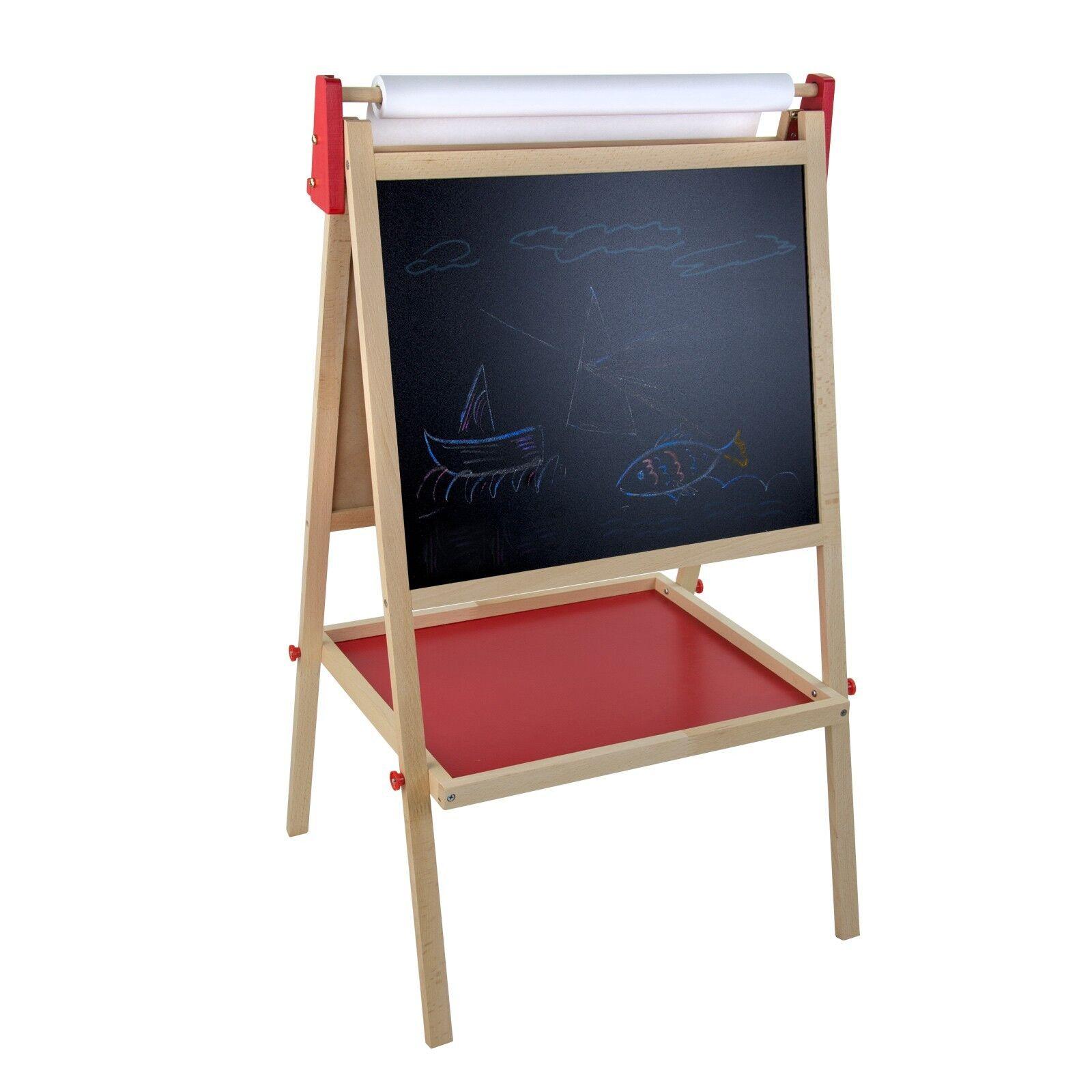 Kindertafel Standtafel Schultafel Maltafel Tafel doppelseitig mit Kreide | Billig  | Schnelle Lieferung  | Gutes Design