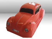 VW KÄFER 1:10 RC KAROSSERIE IN ROT/ORANGE, 185MM BREITE FÜR TAMIYA ETC. # 11011