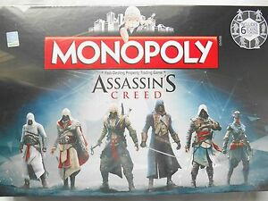 ASSASSINS CREED EDITION MONOPOLY BOARD GAME *BRAND NEW* | eBay