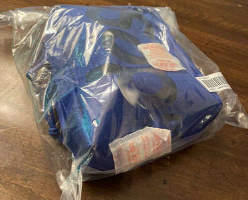 IN HAND SUPREME NECK POUCH ROYAL OS SS21 BRAND NEW SEALED// 100/% AUTHENTIC