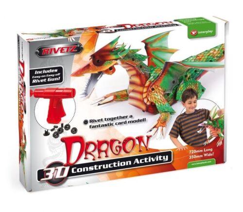 Technokits Rivetz Build a Dragon Construction Activity Gift Set