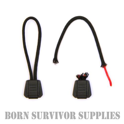 EXOTAC tinderzip zip pull amadou emergency fire starter bushcraft edc feu cordon