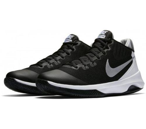 Nike Air Versitile 852431-001 Black Silver White Men's Basketball shoes NEW