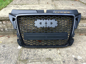 Audi A3 S3 S Line Rs3 Style 8p Facelift Radiator Bumper Grille 2009