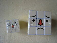 Japanese genuine 2 rubik's cubes TO-FU OYAKO 3x3 Puzzles rubik cube with rogo