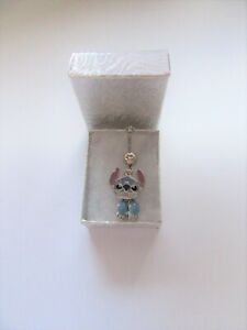Details About New Walt Disney World Stitch Double Sided Articulated Charm On Steel Belly Bar