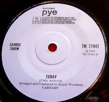 """Sandie Shaw Today 7"""" UK ORIG 1968 Pye 7N 17441 b/w London VINYL"""