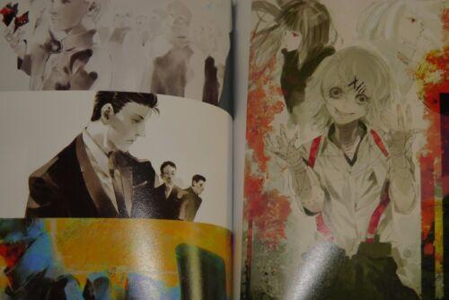 "JAPAN Sui Ishida Official Anime Book Tokyo Ghoul /""anime/"""
