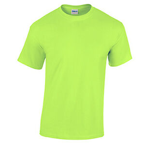 Neon green wholesale blank men 39 s t shirt casual work mens for Neon green shirts for men