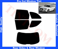 Pre Cut  Window Tint  Audi A6 Est 5D 2011-2013 Rear Window & Rear Sides AnyShade