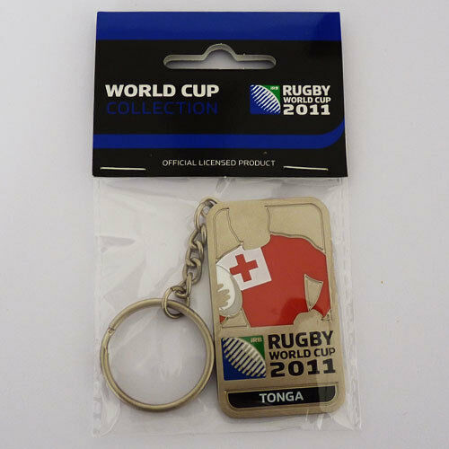 Rugby World Cup RWC 2011 Tonga Player Key Ring