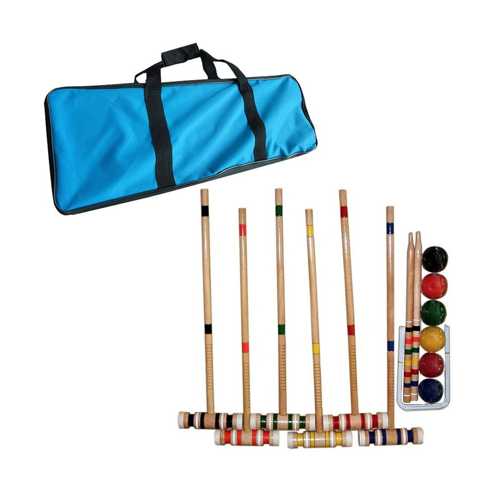Global Croquet Set with Carrying Case