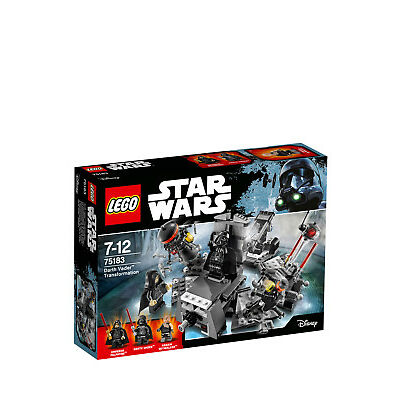 NEW Lego Star Wars Darth Vader Transformation 75183