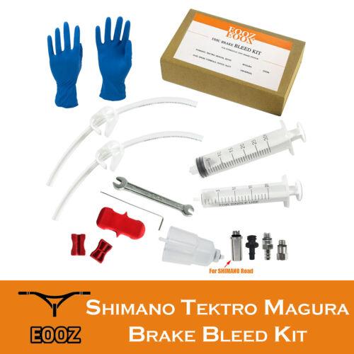 MTB Bike Hydraulic Disc Brake Bleed Kit tool For SHIMANO TEKTRO MAGURA