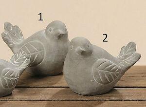 Vögel Beton Set 2 Sorten H7cm Figur Dekofiguren Figuren Garten