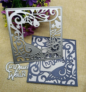 Fox Hedgehog Metal Cutting Dies Stencil For DIY Scrapbooking Paper Cards Crafts