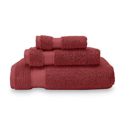 100/% Pure Egyptian Cotton Washcloths Soft Rhubarb Plush 4 Pack