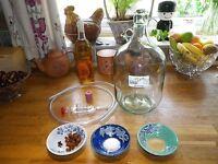 Elderflower Sparkling Wine Making Kit With Traditional Glass Demijohn