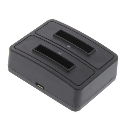 Duo batería cargador para Nikon Coolpix s32 cargador bateria estación de carga para en-el19